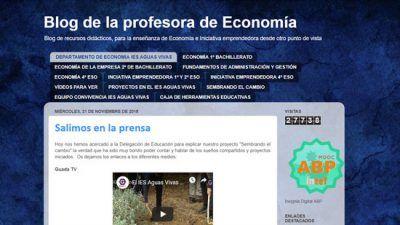 Blog de la profesora de economía. Todos hacemos economía