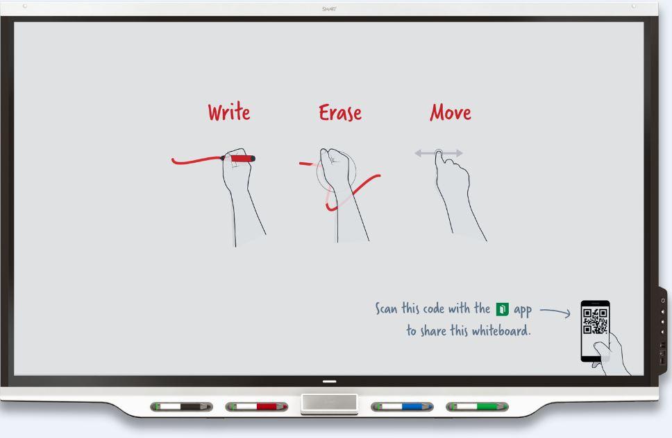 Pantallas interactivas conectadas con SMART 1