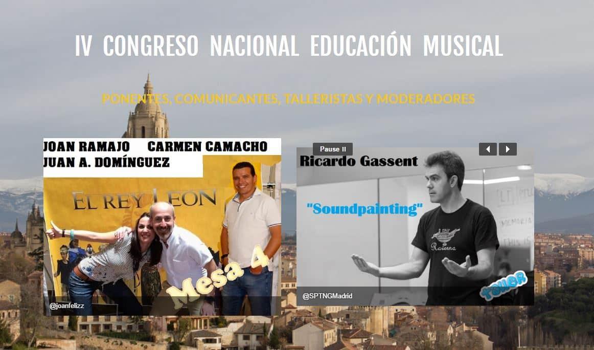 IV Congreso Nacional de Educación Musical CON EUTERPE
