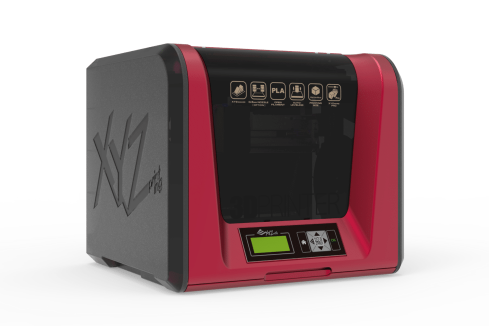 Impresión 3D segura y compacta con XYZPrinting 3