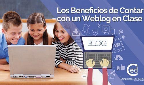 Estos son los beneficios de emplear un blog en el aula 2