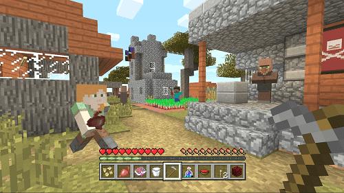 Actividades para trabajar matemáticas con Minecraft 1
