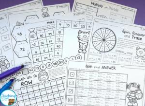 Ideas DIY para aprender las tablas de multiplicar de forma manipulativa 7