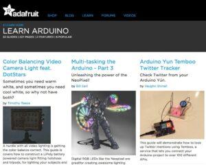 6 webs con recursos y tutoriales para aprender Arduino en clase 6
