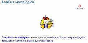 5 recursos para el análisis morfológico en Lengua 3