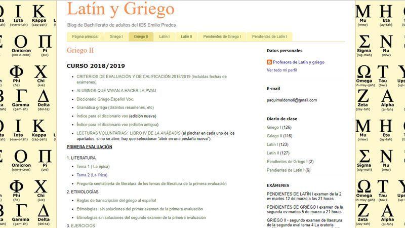 Blogs de Latín y Griego: Emilio Prados