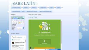 Blogs de Latín y Griego