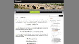 Blogs de latin y griego en español: Bloglatin