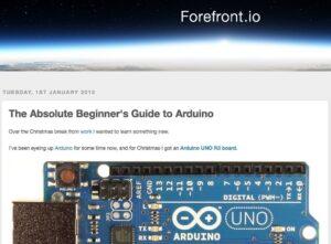 6 webs con recursos y tutoriales para aprender Arduino en clase 2