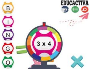 45 juegos interactivos para repasar las tablas de multiplicar 26
