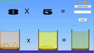 45 juegos interactivos para repasar las tablas de multiplicar 27