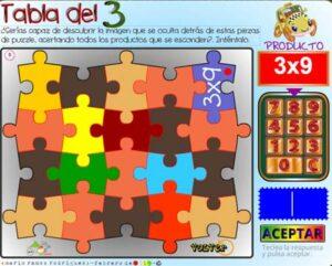 45 juegos interactivos para repasar las tablas de multiplicar 29