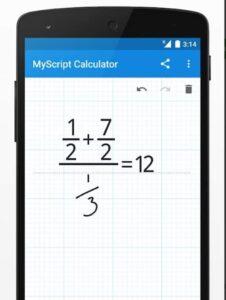 my script calculator app