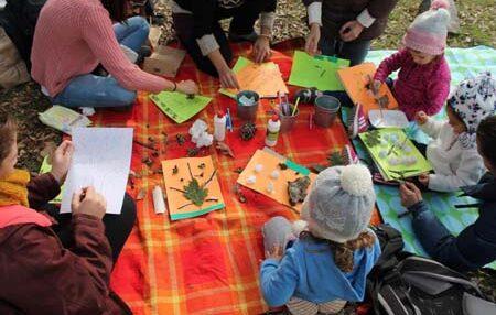 Escuelas bosque: la naturaleza se convierte en el aula de Infantil 1