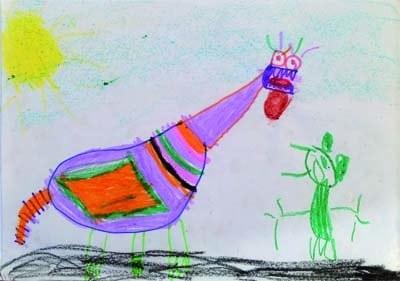 ¡Un proyecto colaborativo con dinosaurios entre Infantil y Universidad! 1