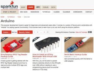 6 webs con recursos y tutoriales para aprender Arduino en clase 4