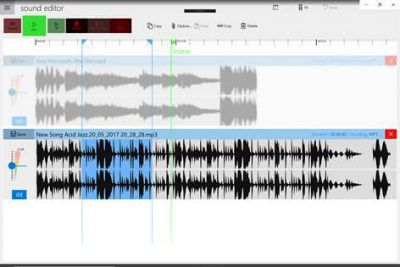 grabar audio sound editor