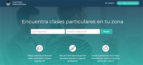 Teachapp- clases particulares on line