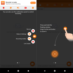 Apps para hacer screencast (grabar la pantalla) de tu smartphone o tablet 3