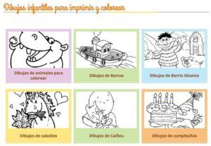 Webs para descargar plantillas para colorear en Infantil y Primaria 7