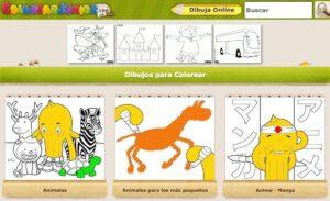 Webs para descargar plantillas para colorear en Infantil y Primaria 5