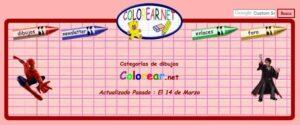 Webs para descargar plantillas para colorear en Infantil y Primaria 1