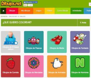 Webs para descargar plantillas para colorear en Infantil y Primaria 2