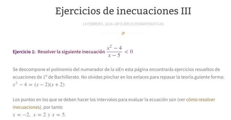 Recursos para aprender y repasar Matemáticas en Bachillerato
