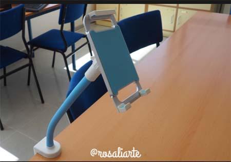 experiencia Flexible Table Stand de HUE 1