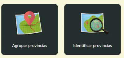 Juegos de mapas de España para Primaria: