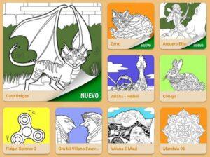 Webs para descargar plantillas para colorear en Infantil y Primaria 9