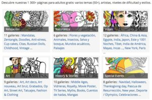 Webs para descargar plantillas para colorear en Infantil y Primaria 10