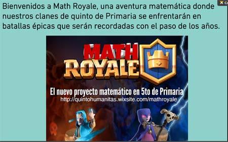 Gamificación en el aula con Math Royale, un juego para aprender matemáticas en 5º de Primaria 1