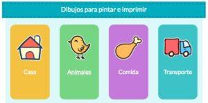 Webs para descargar plantillas para colorear en Infantil y Primaria 8