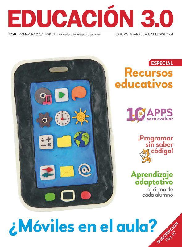 ¡Nº 26 de la Revista Educación 3.0 impresa (y versión digital reducida)! 1