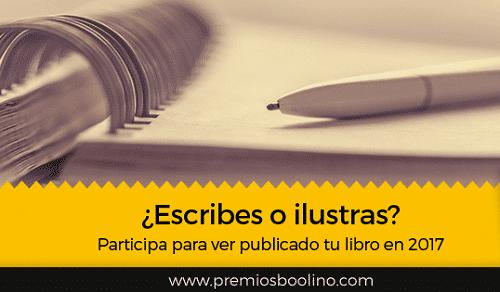¿Quieres publicar tus cuentos y libros? ¡Preséntate a los Premios Boolino de Literatura Infantil y Juvenil! 2