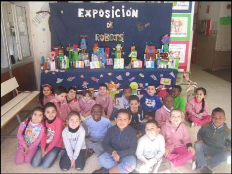 Proyecto: Yo, Robot. Alumnos de Infantil dando vida a su creaciones 1