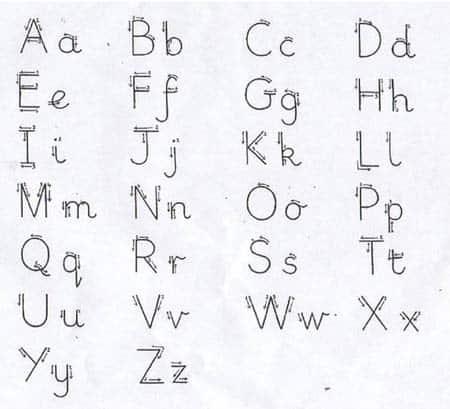 16 recursos para mejorar la caligraf a en infantil y primaria - Como mejorar la caligrafia ...