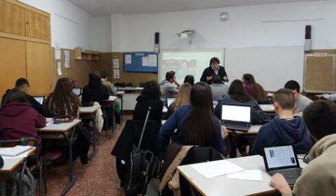 """Ángels Soriano: """"El programa MIE Expert me ha ayudado a desarrollar proyectos colaborativos para implantar la tecnología en el aula"""" 1"""