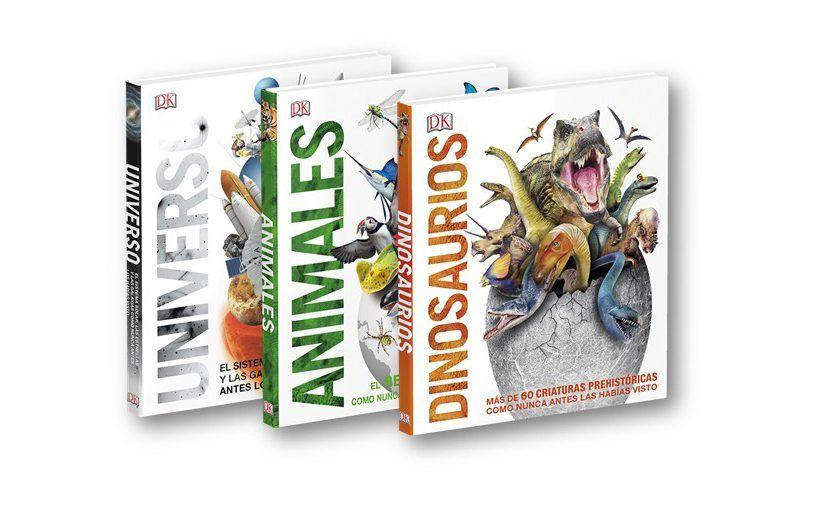 Conocer los animales, los dinosaurios y el universo con DK 4
