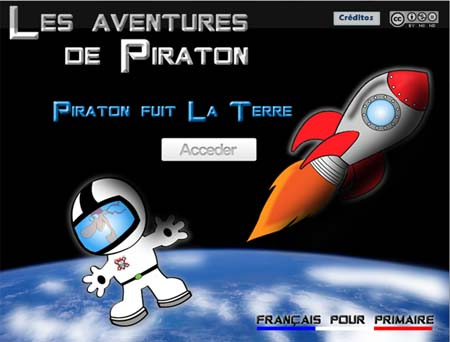 Una aventura gráfica para aprender francés 1