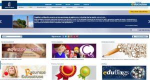Portales educativos de las comunidades autónomas de España 8