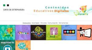 Portales educativos de las comunidades autónomas de España 12