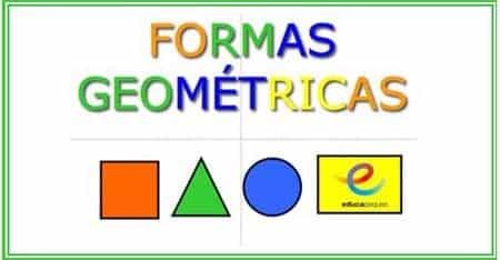 Fichas de Infantil: las formas geométricas: