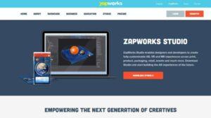 crear contenido para realidad aumentada zapwork