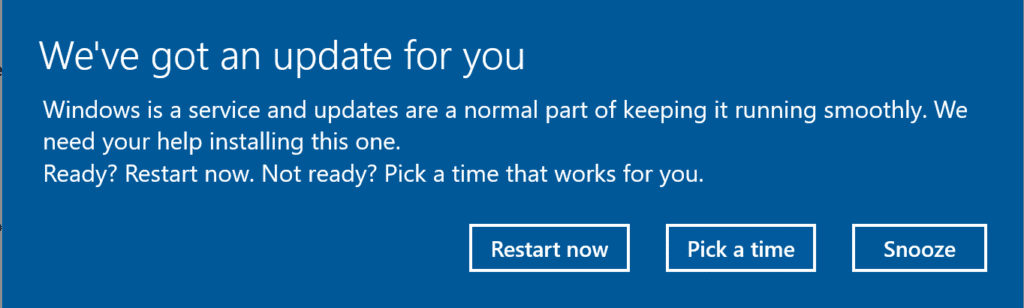 microsoft update for you