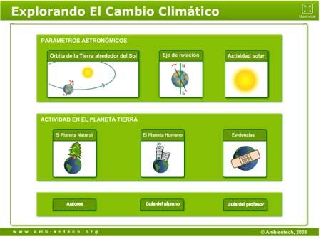 Explorando en cambio climático