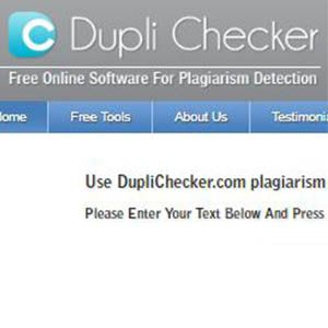 plagio dupli checker
