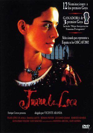 dvd Juana La Loca