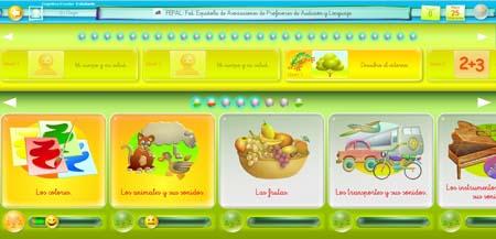 Programa Entornos de Aprendizaje Cognitiva infantil